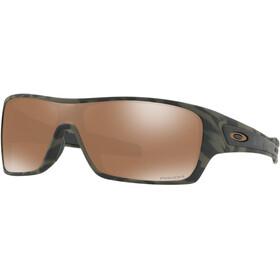 Oakley Turbine Rotor Sunglasses Olive Camo/Prizm Tungsten